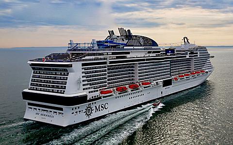 MSC Meraviglia 24 11 17 sardegna Borsa internazionale del turismo
