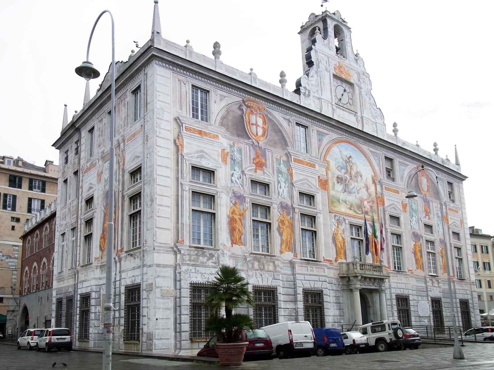 Palazzo San Giorgio riparazioni navali