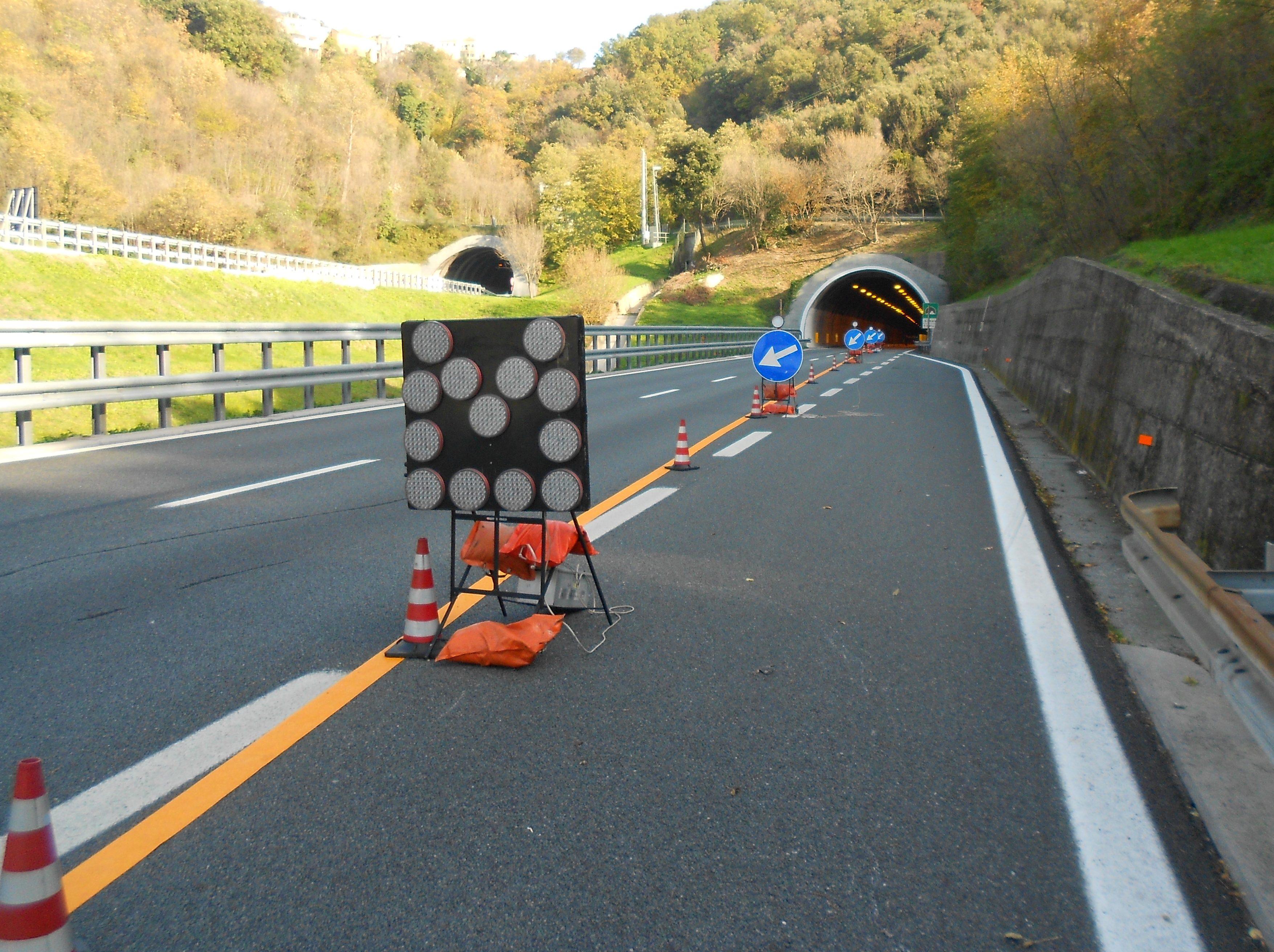 monitoraggio autostrada viadotto dei popoli