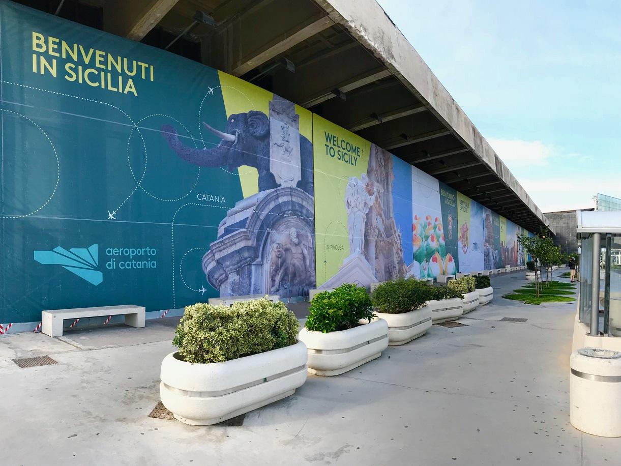 Catania l'aeroporto siciliavola