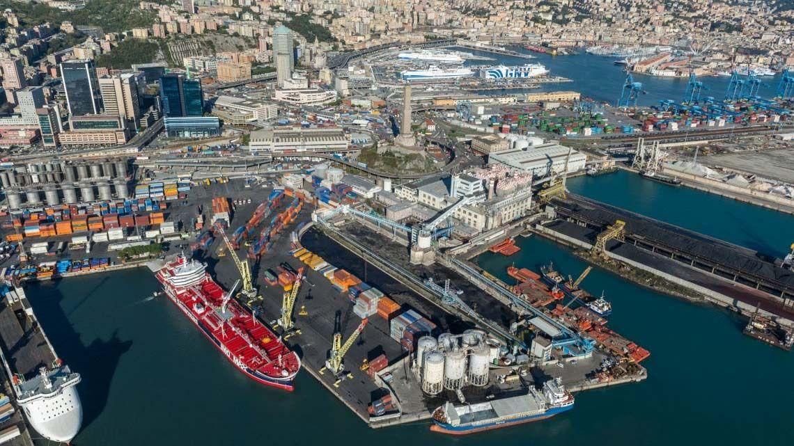 Genova allerta ports of genoa