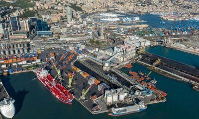 terzo valico san giorgio del porto nuova diga foranea grimaldi holding traffici porti genovesi