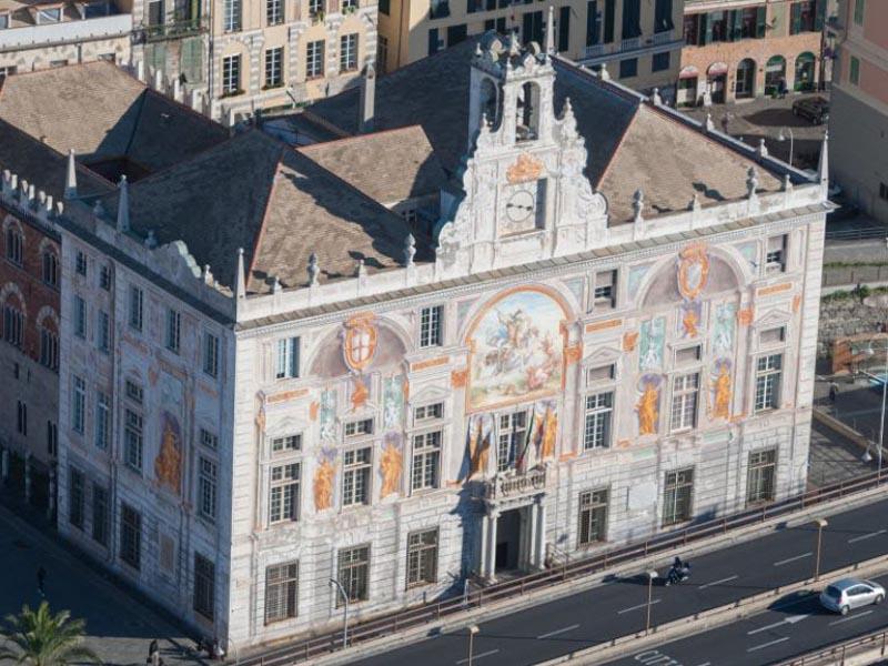Palazzo San Giorgio, Culmv elettrificazione recovery fund