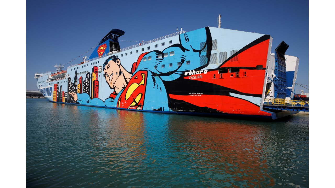 Superman on board