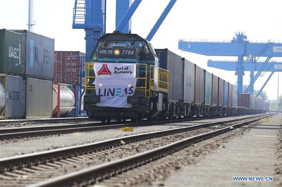 Silk Road: arrivato ad Anversa il primo treno