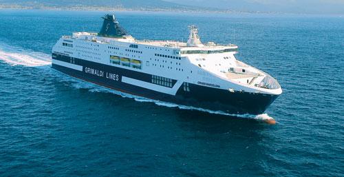 Escola Europea fa il corso su una nave della Grimaldi bollino hansa 303 17