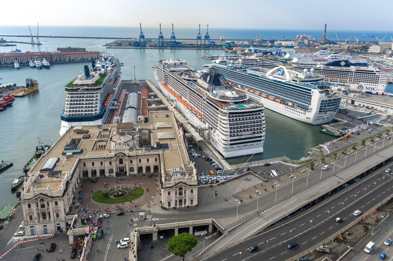 Genova_costa crociere rallentamento