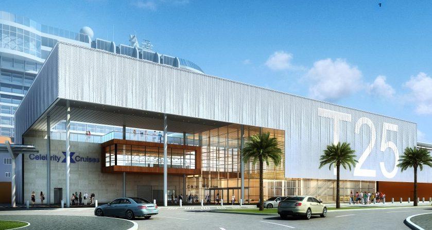 Celebrity Cruises firma il terminal del futuro