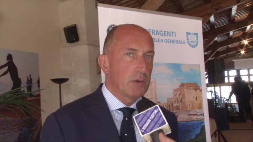 aeroporti italiani Merlo federlogistica innalzamento dei mari cina