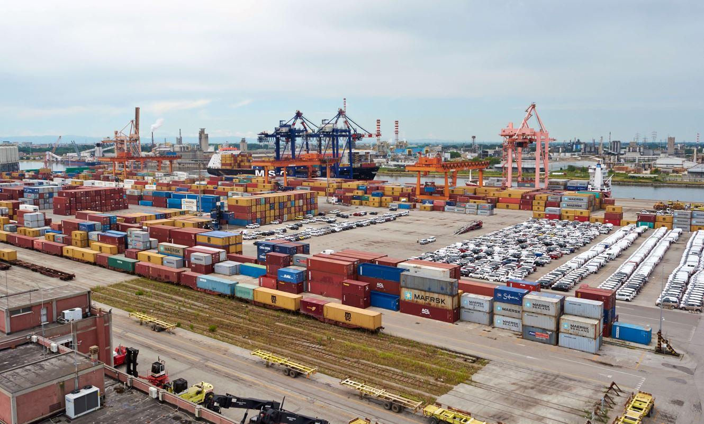 ravenna 13.112.304 tonnellate sistema di controllo movimentazione