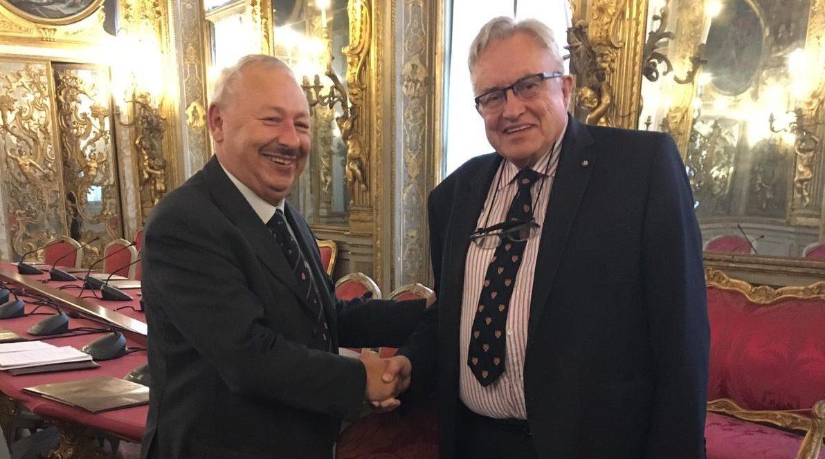 Luigi Attanasio Presidente della Camera di Commercio di Genova
