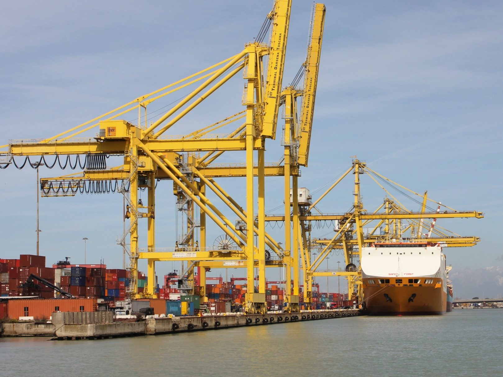 Livorno terminal container 2019