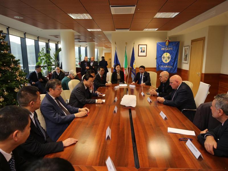Calabria e Cina: avviati rapporti commerciali