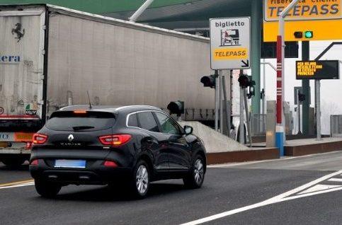 A35 Brebemi, alla giornata di studio sulla tratta di autostrada elettrificata in Germania ingresso in autostrada il casello