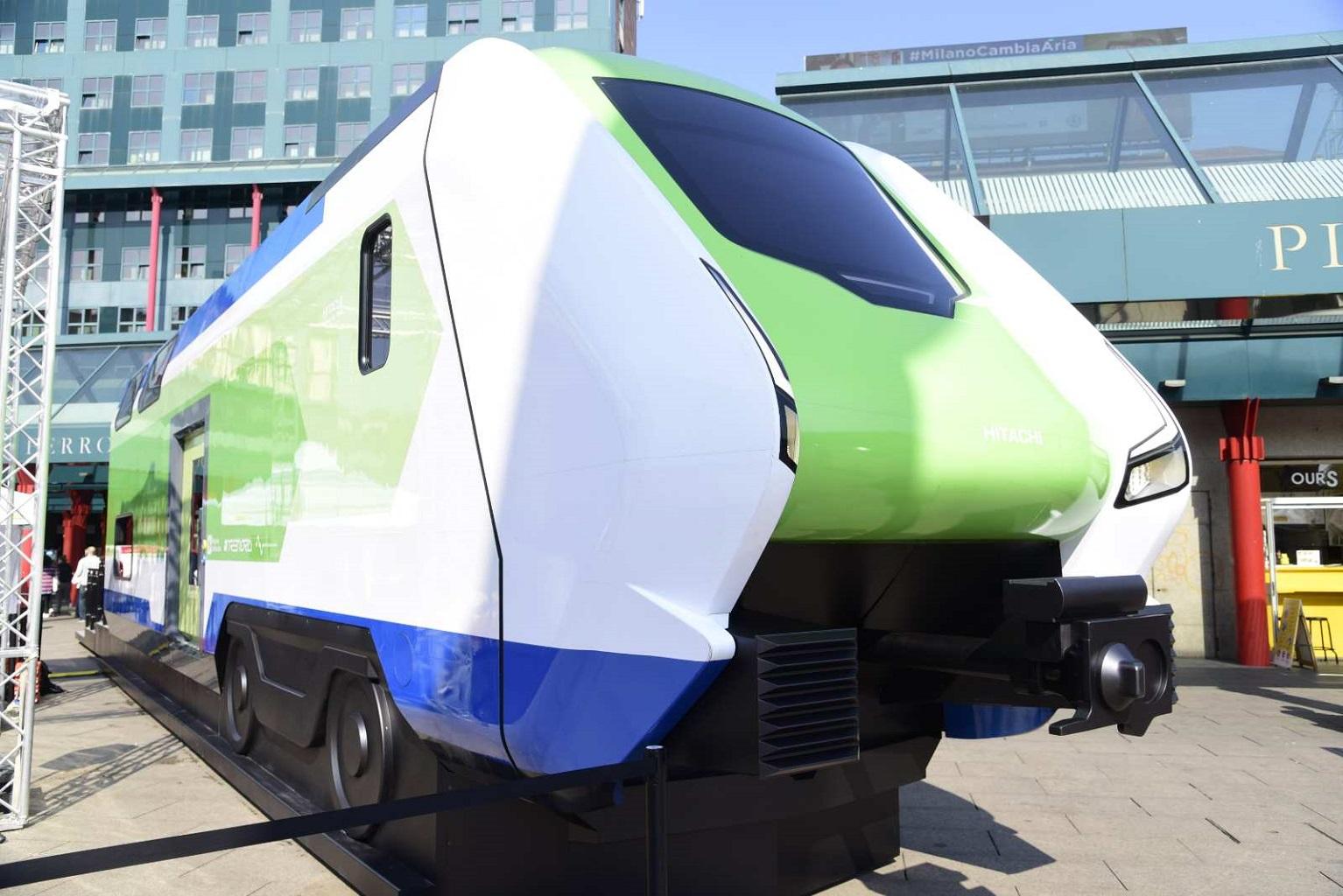 Regione Lombardia: presenta il treno ''Caravaggio''