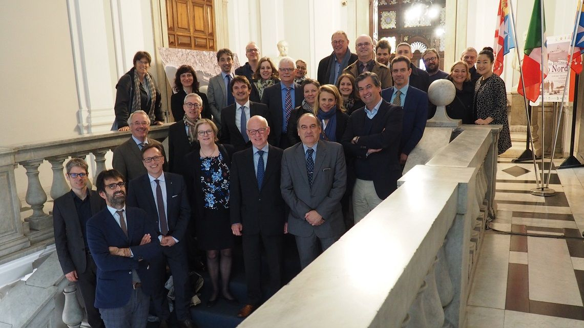 """GENOVA – La riunione del Gruppo europeo di cooperazione territoriale (Gect) """"Alleanza interregionale per il corridoio Reno-Alpi"""", è stata ospitata dall'Autorità di Sistema portuale del mare Ligure occidentale, in collaborazione con Regione Liguria."""