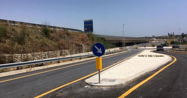 Bretella Noto-Pachino apre al traffico dopo 8 anni un immagine del tratto stradale