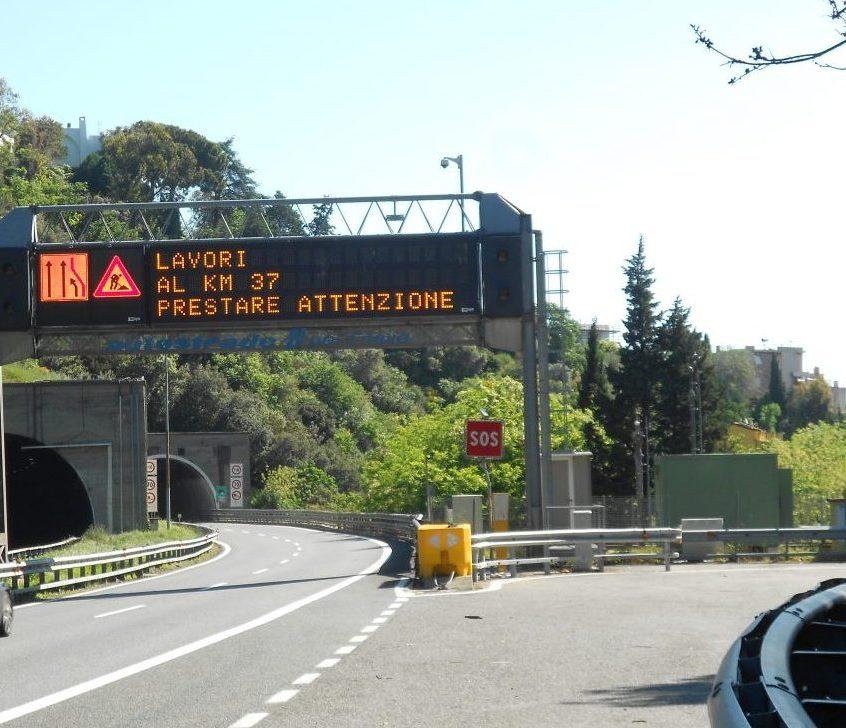 la Genova-Ventimiglia a10