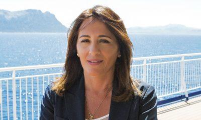 """Gruppo Grimaldi: """"Bollino di qualità"""" , nella foto Francesca Maino"""