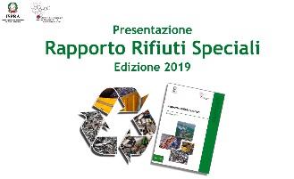 Rifiuti speciali, l'Italia leader nel riciclo, la copertina della pubblicazione ispa su i dati del riciclo