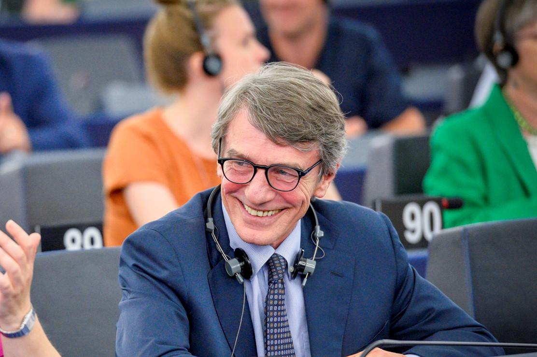 Sassoli eletto presidente nuova commissione europea