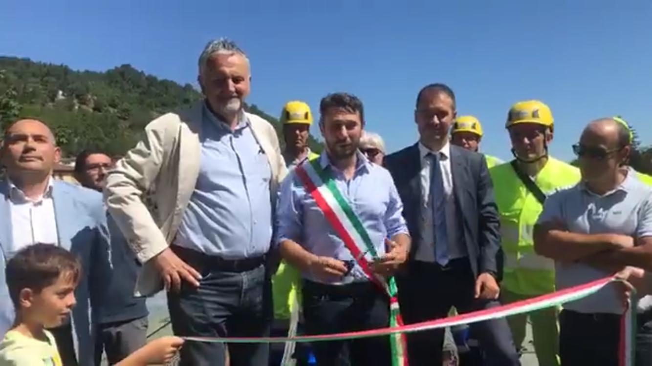 Faentina: riaperta la tratta Borgo San Lorenzo-Faenza, L'assessore e il Sindaco