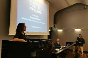 Infrastrutture, l'Emilia-Romagna riparte un momento della riunione con il Ministro