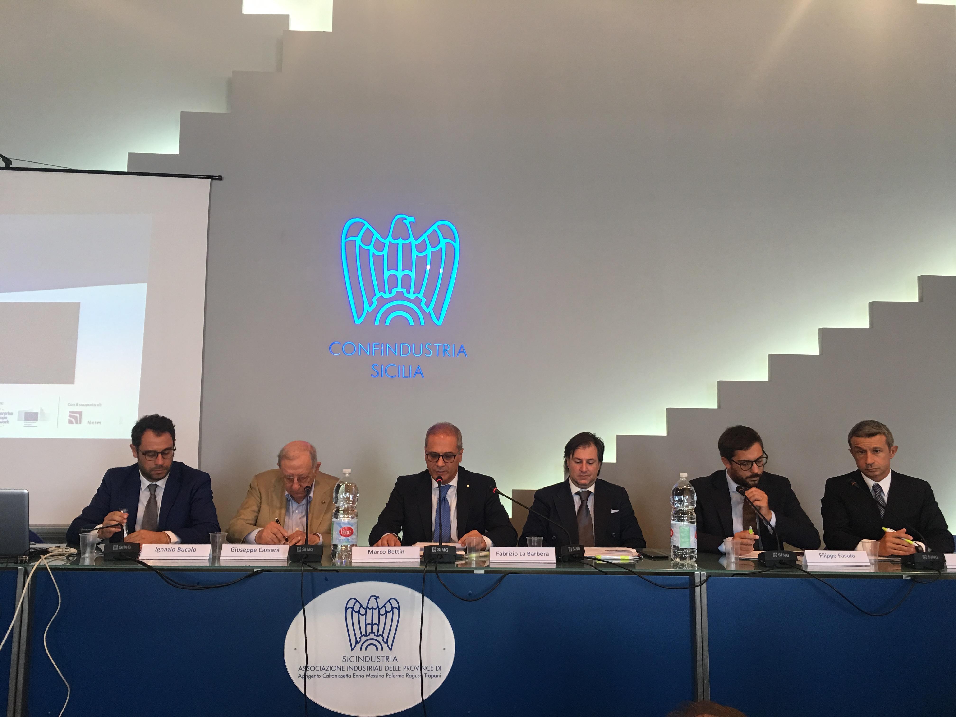 Export: il made in Sicily conquista la Cina, il tavolo del convegno