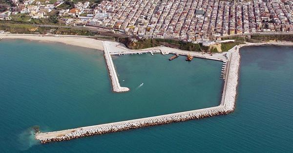 Porto di Balestrate, veduta aerea