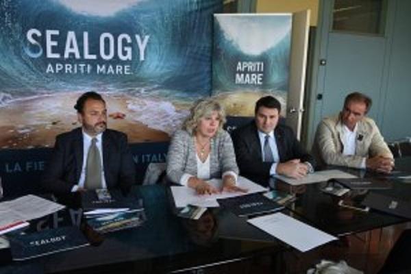Sealogy, grande evento fieristico a Ferrara, un momento della conferenza stampoa di presentazione.
