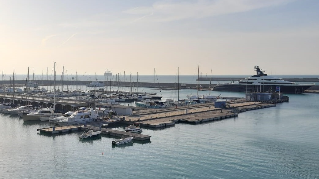 Torre piloti del porto di Genova