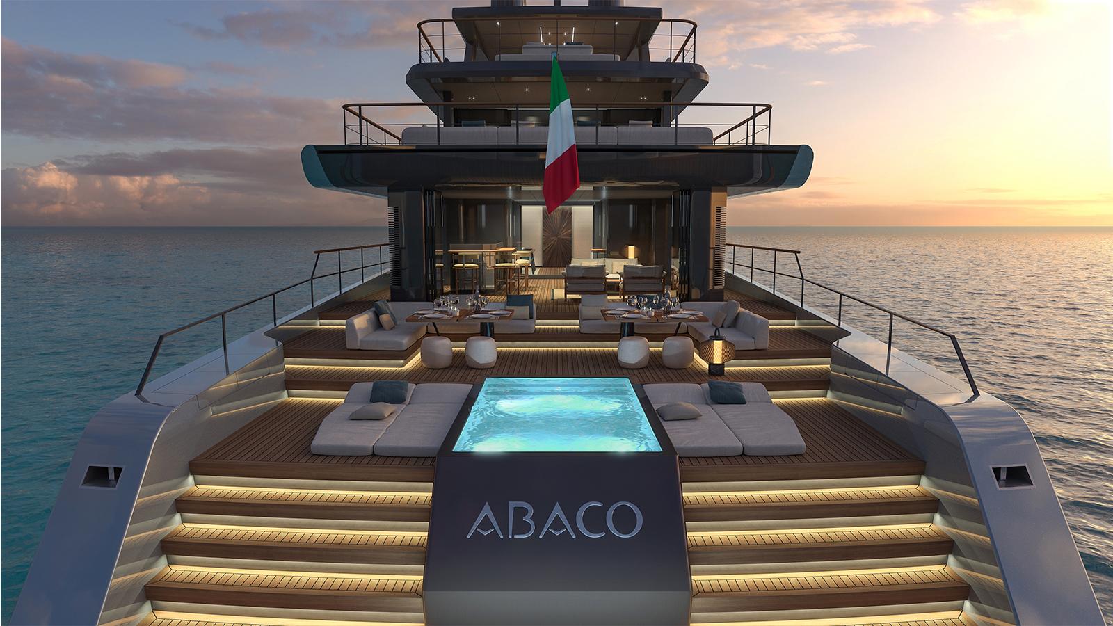 Abaco presentato a Fort Lauderdale una foto del nuovo yacht