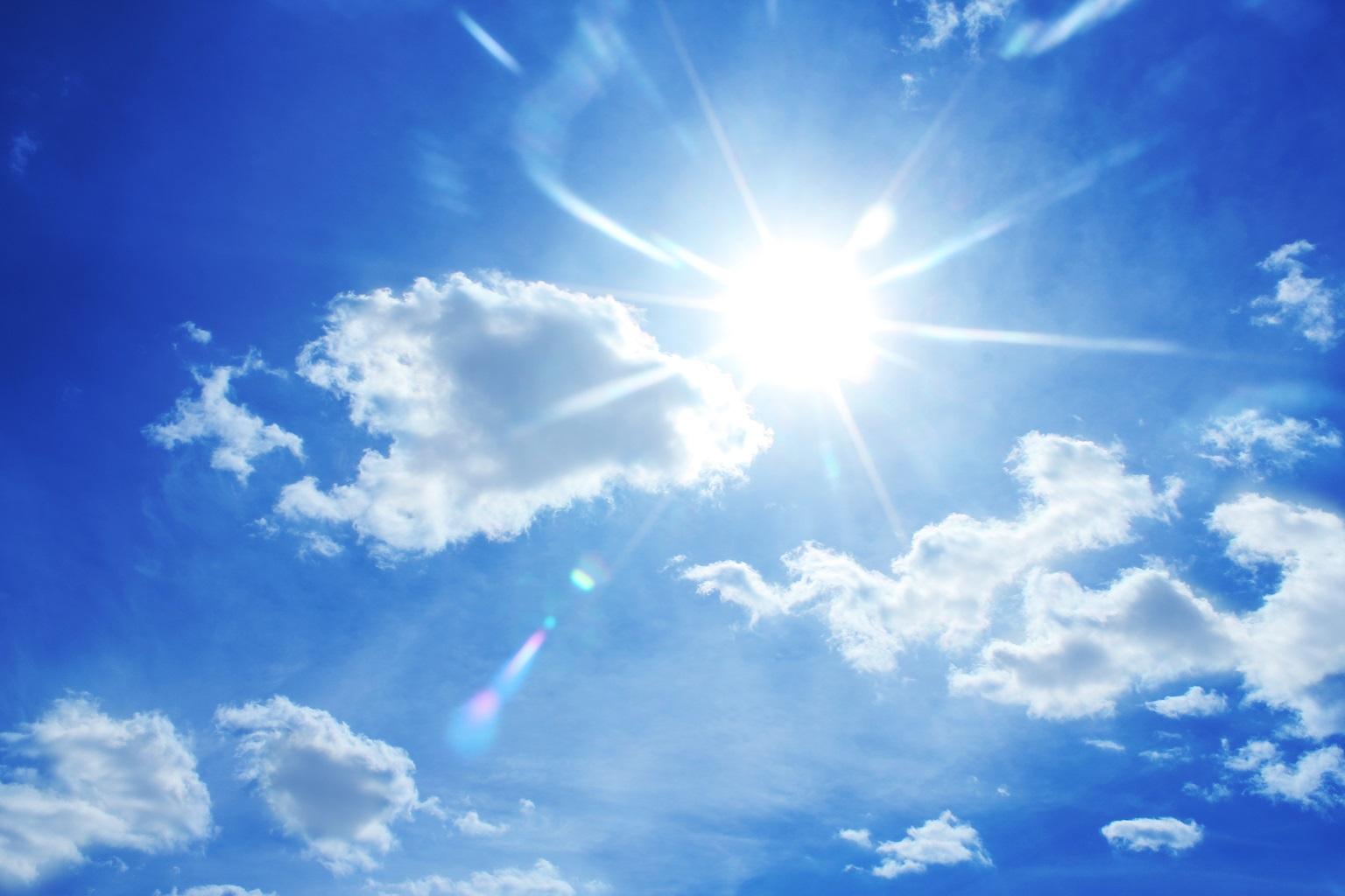Smog: revocate misure a Como e Varese, una foto di cielo pulito