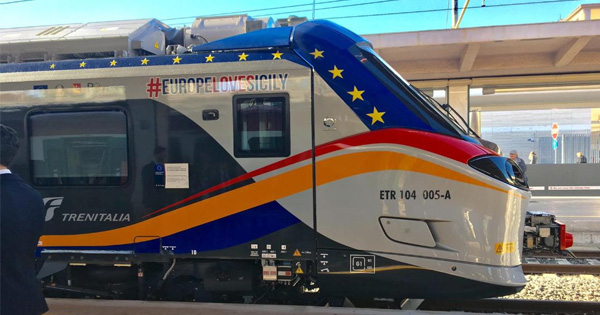 Treno Pop acquistato dalla Regione Sicilia la fotografia del treno Pop