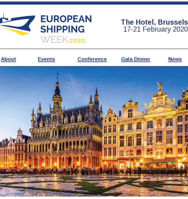European Shipping Week 2020