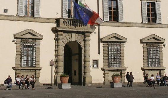Turismo, accordo Regione-CNIT per statistiche in tempo reale, nella foto la sede della Regione Toscana a Palazzo Strozzi Sacrati.
