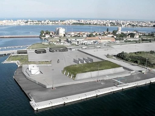 Chioggia: deposito Gpl, la compertenza è del Ministero, nella foto il progetto del deposito Gpl