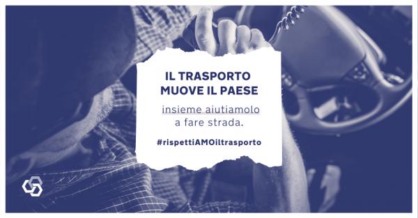 #rispettiAMOiltrasporto