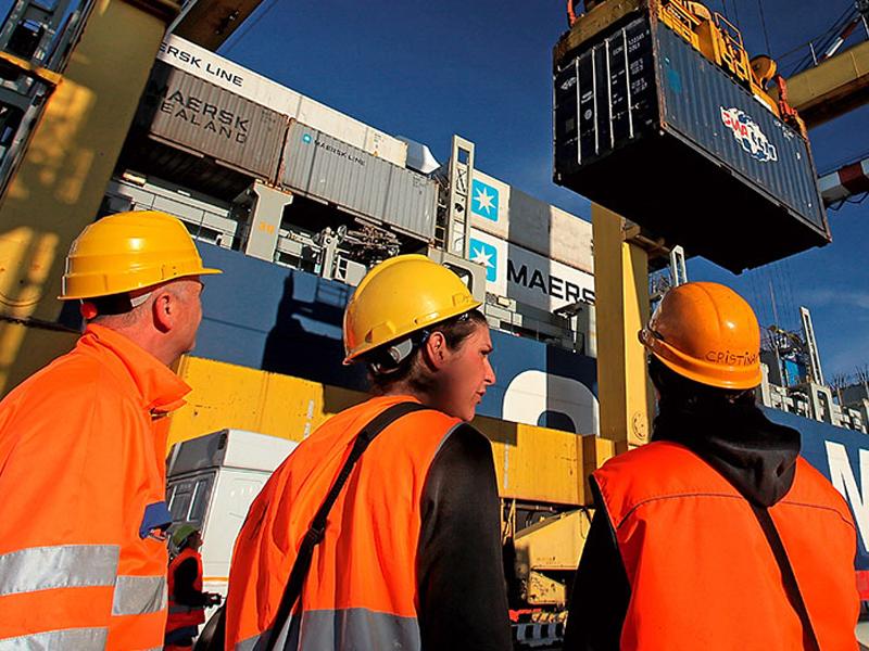 I lavoratori dei porti