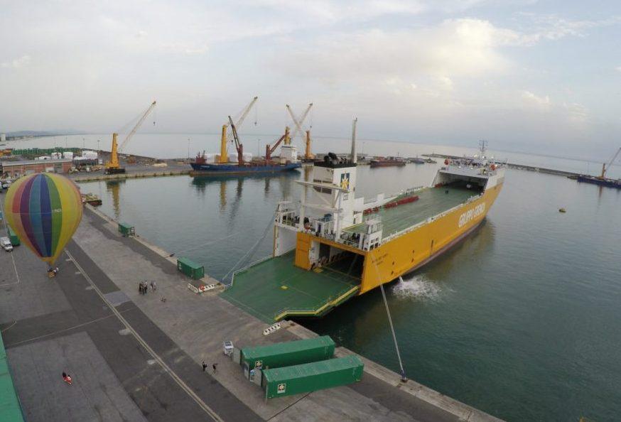 nel porto di Olbia