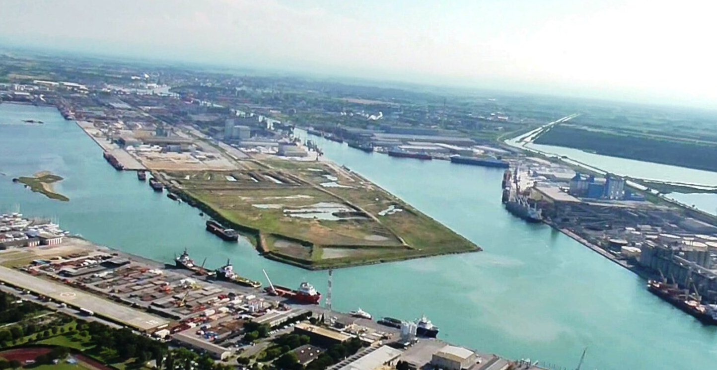 Ravenna port diga zaccagnini Smart port award