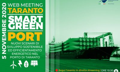 Taranto smart green port Taranto smart green por