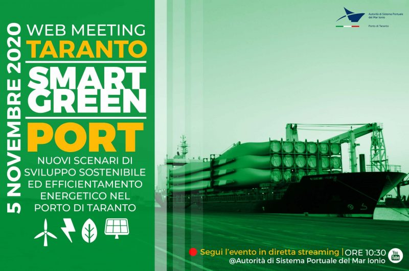Taranto smart green port Taranto smart green por