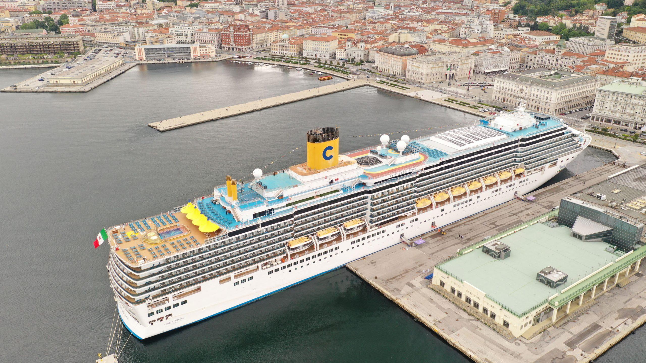 Tornano le crociere a Trieste