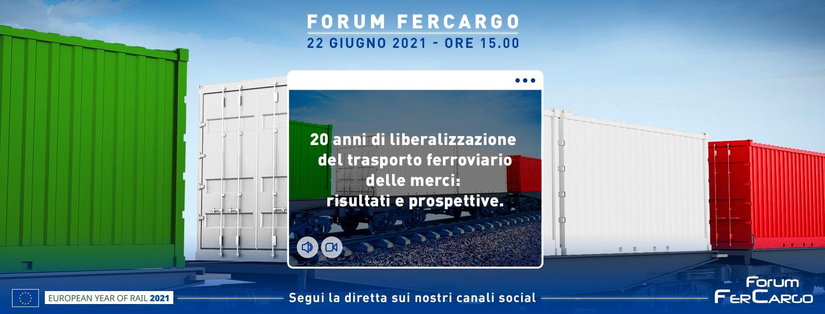 Forum Fercargo liberalizzazione